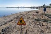 Comienza la instalación de los cinco balnearios en el Mar Menor