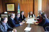 El Ayuntamiento y la dirección general del Agua abordan infraestructuras de alcantarillado y pluviales