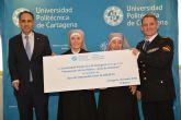La UPCT dona por primera vez los beneficios de un curso de verano para una acción social