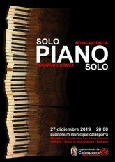 Piano y ciencia en Calasparra