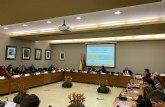 Una delegación de Amusal asistió al acto de presentación de LABORPAR