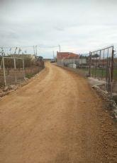 Varios caminos rurales de Las Torres de Cotillas ven mejoradas sus prestaciones
