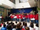Los alumnos del Coro y la Banda de Música del IES Juan de la Cierva y Codorníu ofrecieron varios conciertos de Navidad