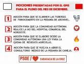 El Grupo Municipal Socialista presenta al pleno del 21 de diciembre mociones para mejorar la vida de los caravaqueños
