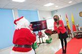 Papa Noel visita Archena y recibe a niños y niñas cumpliendo con todas las medidas anticovid