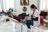 La campaña de donación de sangre logra más de medio centenar de donaciones en una mañana