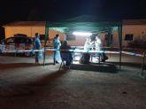 500 personas se acercaron al punto COVID ubicado en el RADAR de Torre Pacheco