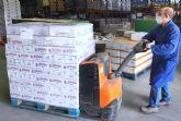 Dulceplus Golosinas entrega unos 650 kilos de producto al Banco de Alimentos de la Región de Murcia
