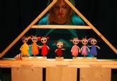 Teatro Los Claveles presenta el espectáculo de títeres y actores SIETE CABRITILLOS el domingo 27 de diciembre en el Teatro Villa de Molina
