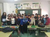 Alumnado del centro educativo 'Juana Rodríguez' recibe el taller contra la violencia de género '¡dale una bofetada!'