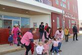 Más de 250 niños evacuados en un simulacro de incendio en la Red Municipal de Guarderías de Puerto Lumbreras