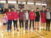 Nueve escolares de Totana participaron en la Jornada Zona Sur de Bádminton de Deporte Escolar
