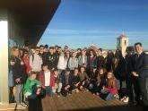 El Alcalde recibe a estudiantes alemanes que participan en un intercambio con alumnos del colegio 'Sagrado Corazón'