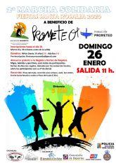II Marcha Solidaria en Santa Rosalía a beneficio de Prometeo