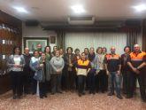 El Servicio de Emergencias Municipal recibió la visita de la asociación 'Damas de Loreto'