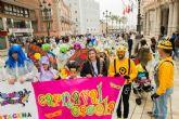 Dos mil niños participan en el Carnaval Escolar de Cartagena