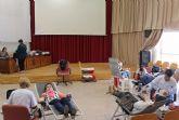 Más de 30 lumbrerenses participan en la convocatoria extraordinaria de donación de sangre en Puerto Lumbreras