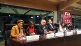 Noelia Arroyo inaugura al primer Congreso de la Federación de Jóvenes Abogados de Región de Murcia