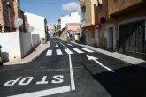 Se abre al tráfico el tramo de la Cañada Zamora que ha sido arreglado, entre la avenida de Lorca y la calle Santiago