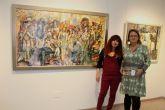 La pintora alhameña Pepi Cava expone 'Solemnidades' en San Pedro del Pinatar