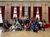 Alumnos de Dinamarca, Finlandia y República Checa visitan el Salón de Plenos gracias al proyecto Erasmus Plus