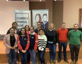 El director general de Juventud, Raúl Puche se reúne con los corresponsales juveniles en San Javier