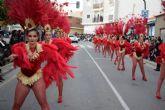 Las peñas locales ofrecen su mejor versi�n en un colorista y divertido desfile de carnaval
