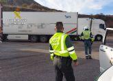La Guardia Civil investiga al conductor de un camión que sextuplicaba la tasa máxima de alcohol