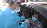 Comienza la vacunación frente al COVID-19 a grandes dependientes y mayores de 80 años de Totana