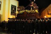 El Nazareno protagonizó la noche de Miércoles Santo en Puerto Lumbreras 2016