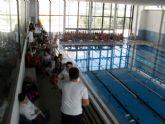 La Concejalía de Deportes y el Centro Deportivo 'MOVE' organizaron una Jornada Acuática Escolar y Zumba
