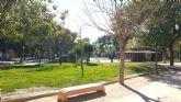 El jardín de Aviación contará en breve con un quiosco café-bar ubicado junto al parque canino