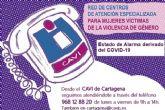 La Concejalía de Igualdad recuerda que el CAVI continúa atendiendo a las víctimas de violencia de género