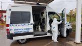 El ayuntamiento lleva a cabo una profunda desinfecci�n en las pedan�as del municipio