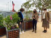 La Escuela Infantil El Lugarico contará con jardineras de gran tamano que permitirán dividir el patio como medida Covid