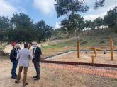 La remodelación del parque Los Polvorines de Monteagudo ampliará la zona para hacer deporte y creará un espacio con juegos infantiles