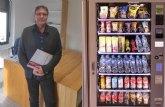 Saorín: 'Consumo regulará las máquinas de 'vending' para introducir fruta'
