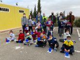 El alumnado del Colegio Hernández Ardieta de Roldán aprende a reciclar en el Ecoparque de Roldán