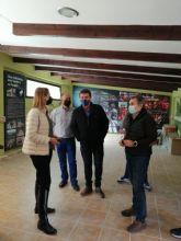 La Comunidad renueva el punto de información de Fuente la Higuera, en la Sierra de la Pila, con una inversión de 42.000 euros