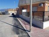 Finalizan las obras de renovación de las redes y acometidas de agua potable en las calles Escorial y Pernales en la pedanía de El Paretón