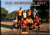 La XXI quedada del grupo 'Kasi Ná Trail' tuvo lugar el domingo 23 de abril