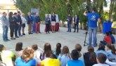 La Comunidad invierte 128.000 euros en la construcción de una cubierta en la pista deportiva del colegio Emilio Candel de Archena
