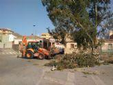 Emergencias y fuerzas de seguridad realizan 16 actuaciones para paliar incidencias provocadas por las rachas de viento