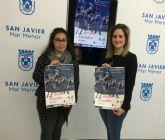 Más de 150 gimnastas de 19 equipos se medirán en el II Torneo Escolar de Gimnasia Estética de Grupo de San Javier