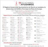 El Ayuntamiento lanza una campaña para informar de la ubicación y horarios de las 71 oficinas de atención ciudadana