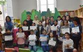 Un total de 48 escolares participan en el V Concurso Literario 'Morerica Galán', cuyos premios se entregaron ayer con motivo de la celebración del Día del Libro
