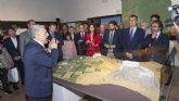 La exposición sobre el Castillejo de Monteagudo muestra el papel clave de la agricultura y el agua en la historia de la Región