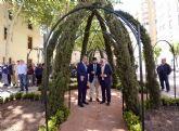 Los murcianos podrán visitar todo el año el jardín andalusí del Rey Lobo que el Ayuntamiento ha recreado en San Esteban
