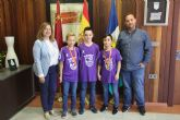 Tres pinatarenses conquistan el Campeonato de España alevín de fútbol sala con la selección murciana