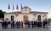 López Miras visita Torre Pacheco y clausura un encuentro con afiliados en el municipio